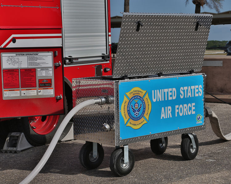 U.S. Air Force for 167 ECOLOGIC® testing systems
